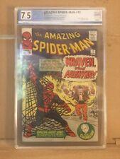 Amazing Spider-Man #15 1st Kraven The Hunter PGX 7.5 Not CGC