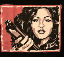 FOXY BROWN PAM GRIER OLD SCHOOL COOL ORIG. ART T SHIRT NEW SMALL MED LG XL & 2XL