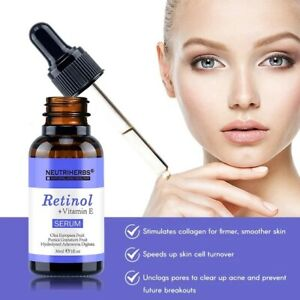 Neutriherbs Skin Care Natural Vitamin E Retinol Serum (Acne/Anti-Aging)