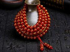 8 mm Tibetan red agate beads sculpture mantra om mani padme hum charm bracelet