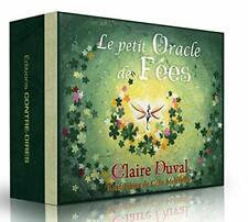 ESOTERIC DIVINATOIRE COFFRET 55 CARTES  LE PETIT ORACLE DES fées DE CLAIRE DUVAL
