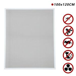 Fliegengitter Fenster Maßgeschneidert  Bohren  Insektenschutzgitter 100x120CM
