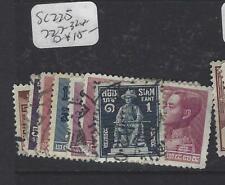Thailand (P0606B) King Sc 225, 227-32 Vfu