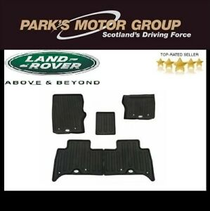 Genuine Land Rover Discovery 5 Rubber Mat Set (Front & Rear)  VPLRS0332PVJ
