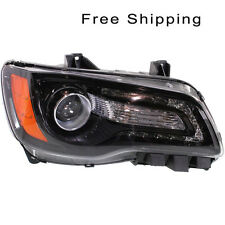 Halogen Head Lamp Assembly Passenger Side Fits Chrysler 300 Sedan CH2503235
