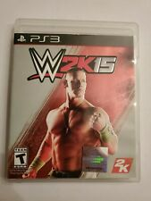 WWE 2K15 (Sony PlayStation 3, 2014) - TESTED - COMPLETE - PS3