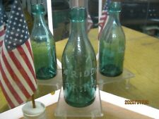 *Wow* An Amazing Teal Color~Pontiled~Blob Soda~W.Riddle~Blob Soda~Philada.