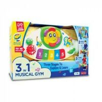 3-In-1 Musical Gym Little Learner Kids Child XMAS Birthday Gift Activity toy