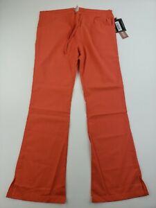 "NEW Dickies Peach Color Scrub Pants Size Small   Drawstring Waist   30"" Inseam"