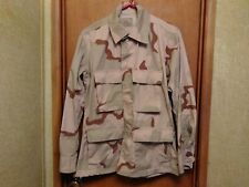 US Military Army Jacket Coat Desert Camo Combat Camouflage Size Small Short