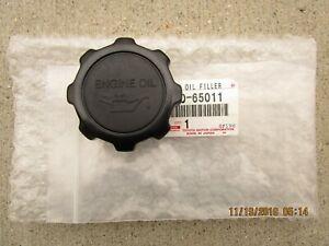 FITS: 87 - 95 TOYOTA PICKUP DLX SR5 2D CAB ENGINE OIL FILLER CAP OEM BRAND NEW
