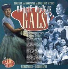 Boogie Woogie Gals by Various Artists (CD, Sep-2015, 2 Discs, JSP (UK))