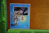 c2be23ba31ff2a Alter Aufkleber Post Philateslisten Briefmarken Kataloge und Alben von  MICHEL