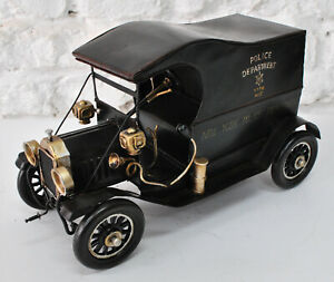 """1914 Ford tin Lizzie"""" """"leaping Lena"""" """"jitney"""" or """"flivver"""" Automobile Police ART"""