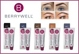 NEW BERRYWELL Professional Eyebrow Eyelash Tint Dye 15ml *CHOOSE YOUR COLOR*