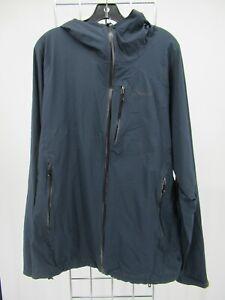 H1944 Men's Patagonia Hood Weatherproof Windbreaker Jacket Size XL