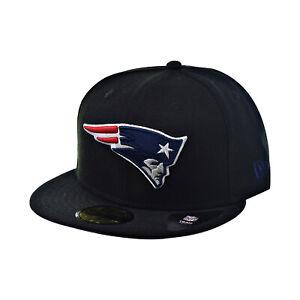 New Era New England Patriots 59Fifty Men's Hat NFL Black/Team