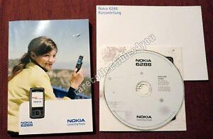 Nokia 6288 Handbuch+CD+Kurzanleitung, gebraucht/gut, ohne Verpackung