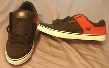 DVS Ignition CT Deegan (mens size USA13) skate shoes (red, black, & white) RARE!