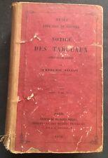 1865 VILLOT - MUSÉE IMPÉRIAL DU LOUVRE - NOTICE DES TABLEAUX  3 parties en 1 vol