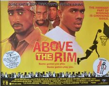 "MOVIE POSTER~Above The Rim 1994 30x40"" Quad Tupac Shakur Duane Martin Leon 2Pac~"
