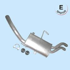 Auspuff hinten Endtopf Schalldämpfer Endschalldämpfer Peugeot 806 1,9 2,0 2,1