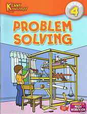 Kenny Kangaroo PROBLEM SOLVING MATH School Workbook w/Cert & Answer Key Grade 4