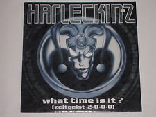"""HARLECKINZ -What Time Is It (Zeitgeist 2 0 0 0)- 12"""""""