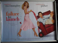 Cinema Poster: FAILURE TO LAUNCH 2006 (Quad) Kathy Bates Sarah Jessica Parker