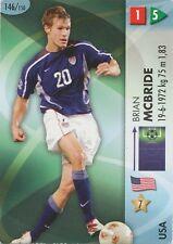N°146 BRIAN MCBRIDE USA TRADING CARDS PANINI WORLD CUP 2006
