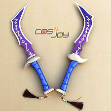 "Cosjoy 25"" Dissidia Final Fantasy Zidane Double Swords PVC Cosplay Prop -0029"