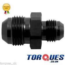 AN -8 (AN8) to (AN10) Straight Reducer Adapter Black