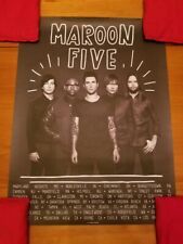 Maroon 5 Poster - Overexposed Tour