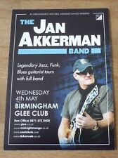 JAN AKKERMAN (UK Concert Tour Flyer)  A6 size