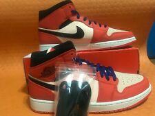 2878d443982 Air Jordan Retro1Mid SE Team Orange Black CrimsonTint852542-800 Sz 12 no  top box