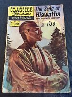 Classics Illustrated #57 Song Of Hiawatha 1968 #57/166 Combine Shipping