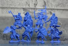 Plastic Toy Soldiers Medieval Crusader Knights Templar  NEW!!! 1/32 54 mm