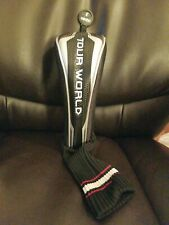 Honma Tour World Fairway Wood Head Cover Black/Silver USED VG+