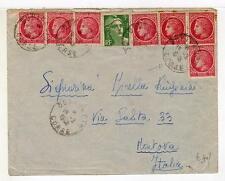 A4844) FRANCE 1948 Cover Bonifacio Corse - Mantova