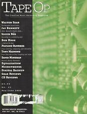 2004 Tape Op Recording Magazine Sigur Ros Bob Moog Pere Ubu Tony Maimone Wilco