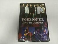 JJ11- FOREIGNER LIVE IN CONCERT DVD NUEVO PRECINTADO LIQUIDACIÓN!!