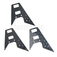 3 Pcs Different Guitar Pickguard for 67 Reissue Series Flying V Replacement