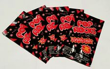10 x POP ROCKS CANDY - STRAWBERRY 🍓 - Fast & Free post - Kids party lollies -