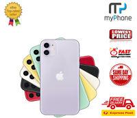 Apple iPhone Eleven - 64GB/128GB  Unlocked Single Sim Smartphone AU Seller