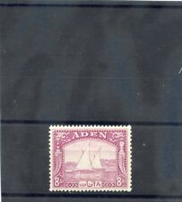 Aden Sc 8(Sg 8)*Vf Nh 1937 8a Pale Purple $110