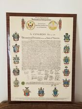 "Officially Certified Facsimile of the Declaration of Independence""TRUE COPY 1776"