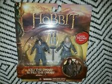 The Hobbit Kili and Fili Dwarf Lord of the rings Figures LOTR