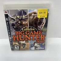 Cabela's Big Game Hunter 2010 Sony Playstation 3 PS3 Tested Used Activision