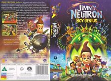 Jimmy Neutron Boy Genius Video Promo Sample Sleeve/Cover #10610