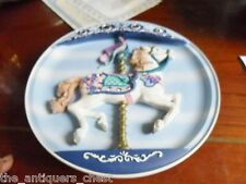 Joyful Jumper carousel musical plate, new in box[am2]